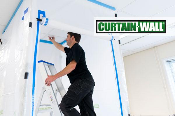 Curtain-Wall is het flexibele stofwandsysteem