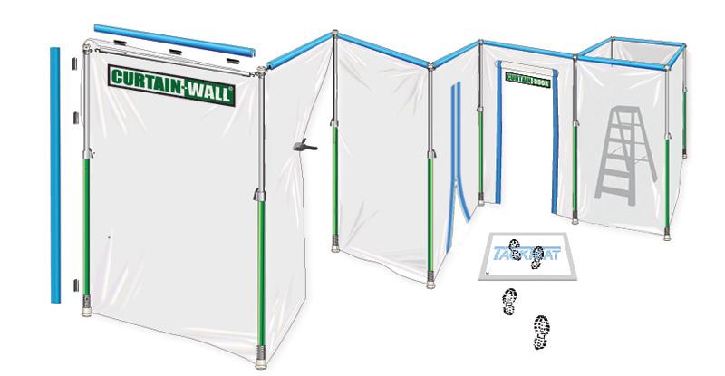Système Curtain-Wall francais