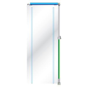 Curtain-Wall Curtain-Door-Extension-Kit